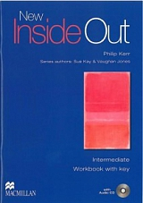 New Inside Out: Intermediate Workbook